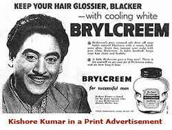 Kishore Kumar Advertising - Bobby Talks Cinema.com